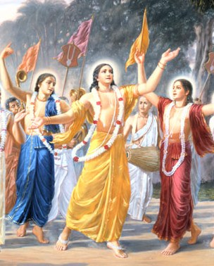 Dancing Chaitanya